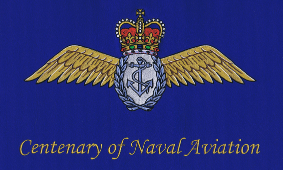Centenary of Naval Aviation Embroidery