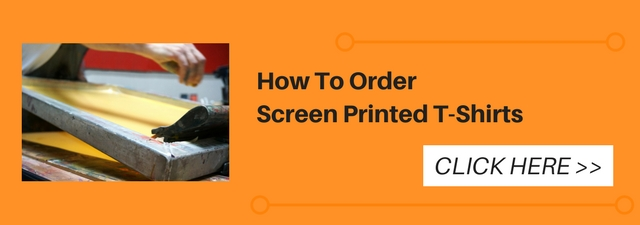 How to Order Screen Printed T-Shirts