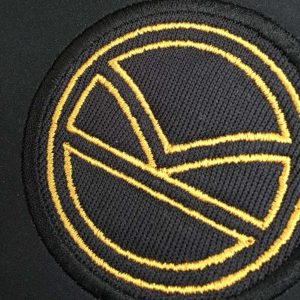 applique embroidered badge
